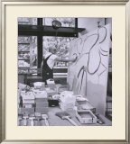 Painting in his East Hampton Studio Posters by Willem de Kooning
