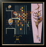 Les Trois Ovales, c.1942 Print by Wassily Kandinsky