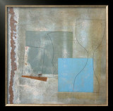 Green Goblet and Blue Square, c.1961 Art by Ben Nicholson