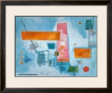 Structure Angulaire Poster by Wassily Kandinsky