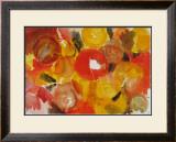 Yellow, Vermilion Art by Ernst  Wilhelm Nay