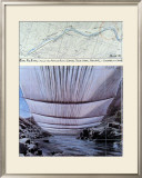 Arkansas River from Underneath Posters by  Christo