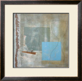 Green Goblet and Blue Square, c.1961 Prints by Ben Nicholson