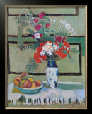Still Life, Flowers and Fruit Poster by Henri Matisse