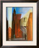 Arch Tower I Prints by Lyonel Feininger