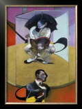 Personnages Assis, c.1978 Print by Francis Bacon