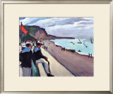 Beach of Fecamp Poster by Pierre Albert Marquet