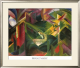 Forest Posters by Franz Marc