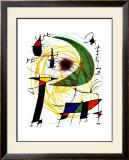 Lune Verte Posters by Joan Miró