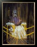 Etude d'Apres le Portrait du Pape Innocent X par Velasquez, c.1953 Poster by Francis Bacon