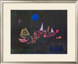 Departure of the Ships, 1927 Print by Paul Klee
