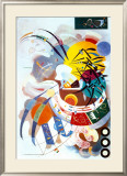 Dominant Curve, c.1936 Poster by Wassily Kandinsky