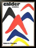Stabiles, 1971 Prints by Alexander Calder