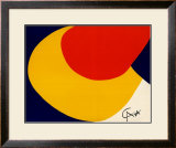 Convection Posters by Alexander Calder