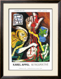Retrospektive Poster by Karel Appel