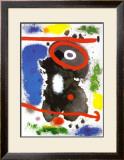 Head Prints by Joan Miró