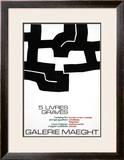 Cinq Livres Graves, 1974 Posters by Eduardo Chillida