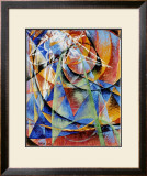 Mercury Passing Before the Sun Prints by Giacomo Balla