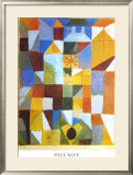 Composition with Yellow Print by Paul Klee