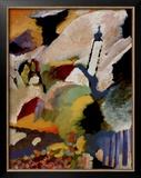 Kirche in Murnau, 1910 Print by Wassily Kandinsky