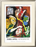 Retrospektive Art by Karel Appel