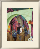 The Green Bridge II Prints by Lyonel Feininger