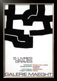Cinq Livres Graves, 1974 Poster by Eduardo Chillida