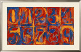 Zero-Nine Posters by Jasper Johns