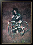 Georges a Bicyclette Art by Francis Bacon