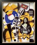 La Joconde aux Clefs, c.1930 Art by Fernand Leger