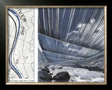 Over the River, project for the Arkansas River Prints by  Christo