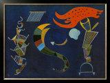 Mit dem Pfeil, c.1943 Poster by Wassily Kandinsky