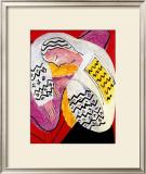 The Dream Framed Giclee Print by Henri Matisse