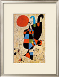 Upside-Down Figures Prints by Joan Miró