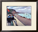 Beach of Fecamp Prints by Pierre Albert Marquet