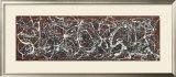 Número 13A: Arabesco Pôsters por Jackson Pollock