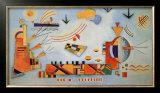 Milder Vorgang, 1928 Prints by Wassily Kandinsky