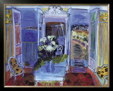 Indoors with the Window Open Poster by Raoul Dufy
