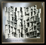 At Pace Columbus, Silver Print by Louise Nevelson