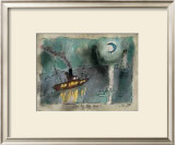 Once in a Blue Moon, 1938 Prints by Lyonel Feininger