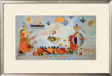 Milder Vorgang, 1928 Posters by Wassily Kandinsky