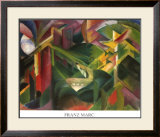 Forest Art by Franz Marc