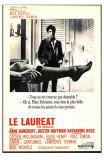 The Graduate, French Movie Poster, 1967 Affiches
