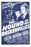 The Hound of The Baskervilles, 1939 Posters