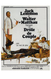The Odd Couple, French Movie Poster, 1968 Posters