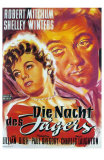 The Night of the Hunter, German Movie Poster, 1955 Poster