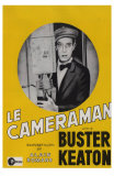 The Cameraman, French Movie Poster, 1928 Poster