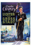 City Lights, German Movie Poster, 1931 Prints