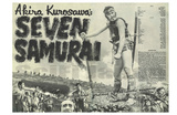Seven Samurai, 1954 Posters