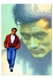 Rebel bez příčiny /Rebel Without a Cause, 1955 (filmový plakát vangličtině) Obrazy